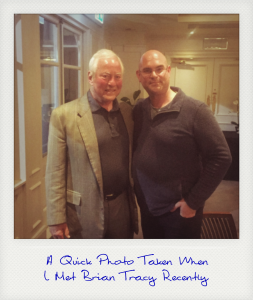 Me With Brian Tracy